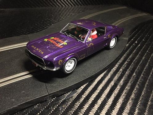 P073 Pioneer Mustang 390 GT 'Santa's 'Stang' Sugarplum Purple