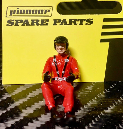 Pioneer Slot Car Painted Driver Figure - FD215411