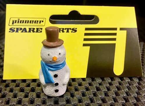 Pioneer Slot Car Painted Snowman Figure - FA203501