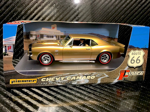P106 Pioneer Chevy Camaro, Yenko SS427, Gold 'Route 66'
