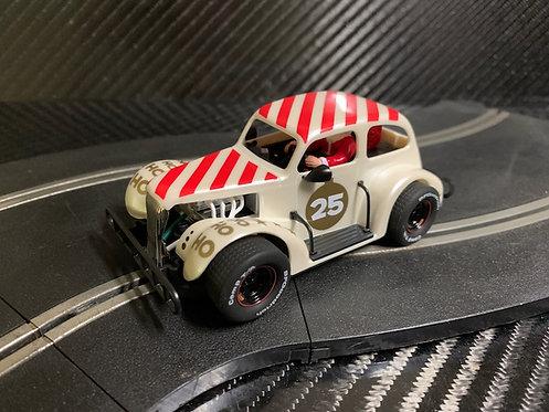 P084 Pioneer Santa Legends Racer, '37 Chevy Sedan, Buttermilk White