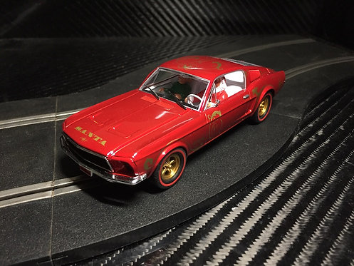P074 Pioneer Mustang 390 GT 'Santa's 'Stang' Candy Cane Red