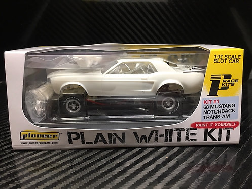 PWK #1 Pioneer Mustang Notchback Plain White Kit