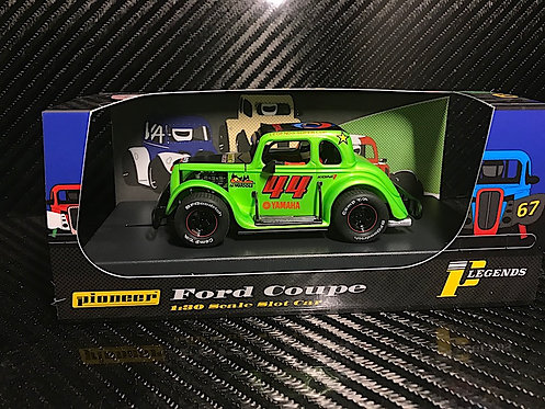 P082 Pioneer Legends Racer, '34 Ford Coupe, Metallic Green #44
