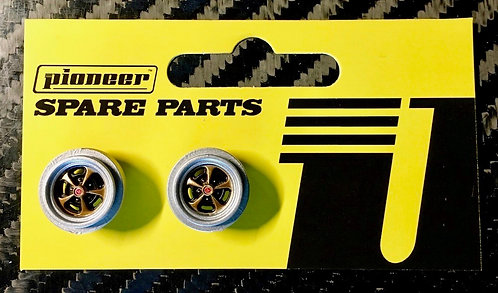 Pioneer 'Crager' Mag 500 Rear Wheels - Gold