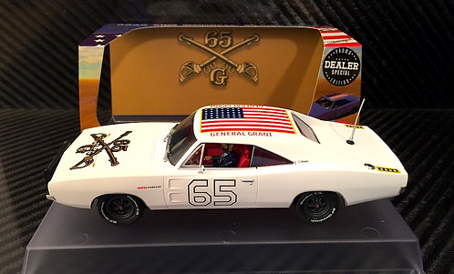 P097-DS Pioneer Dodge Charger White 'General Grant' Special Edition