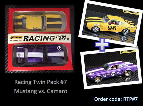 Pioneer 'Racing Twin Pack' Mustang vs. Camaro