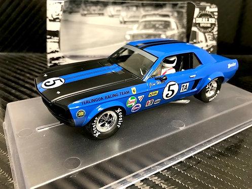 133-DS Pioneer 1968 Mustang Trans-Am #5, Blue, Dealer Special