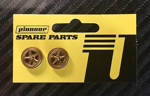 Pioneer Street Car Torq Thrust Front Wheels - All Gold