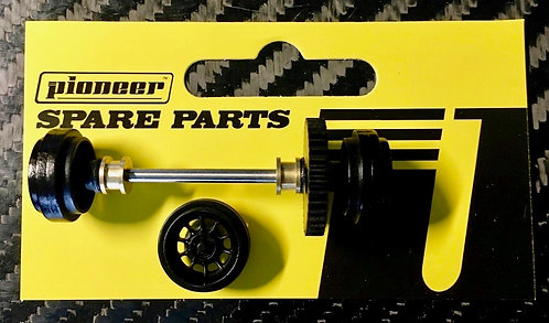 Pioneer Rear Axle Assembly - 'Vector' American Racing Wheels