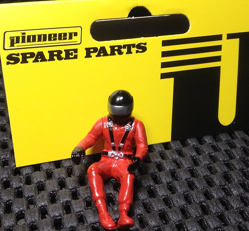 Pioneer Slot Car Painted Driver Figure - FD201571