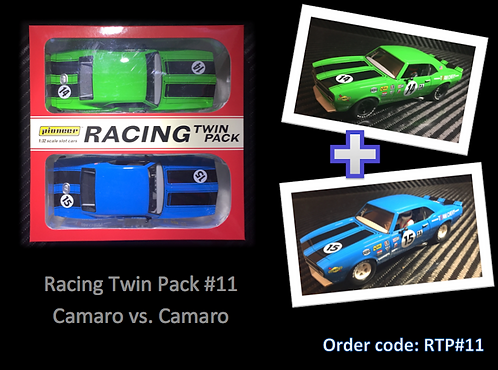 Pioneer 'Racing Twin Pack' Camaro vs. Camaro
