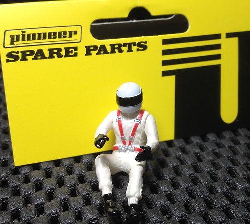 Pioneer Slot Car Painted Driver Figure - FD201572