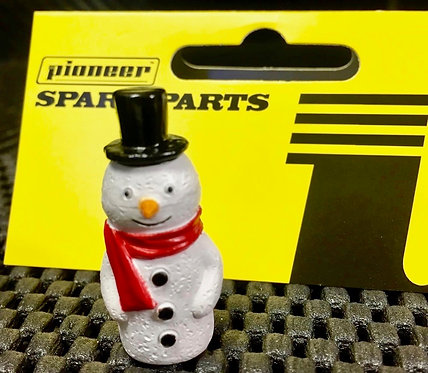 Pioneer Slot Car Painted Snowman Figure - FA203502