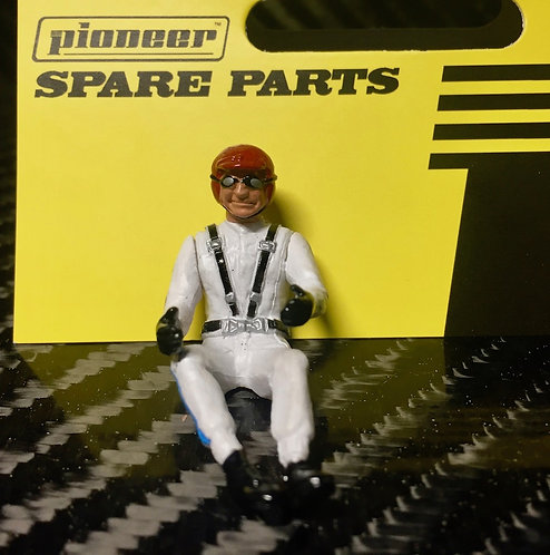 Pioneer Slot Car Painted Driver Figure - FD201548