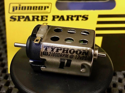 Pioneer Upgrade SS TYPHOON Motor (Plain Shaft) 21000 rpm at 12vDC
