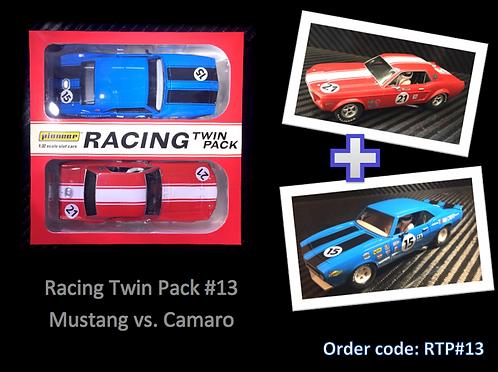 Pioneer 'Racing Twin Pack' Mustang vs. Camaro