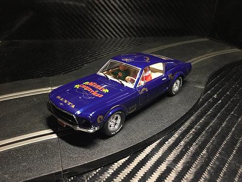 P072 Pioneer Mustang 390 GT 'Santa's 'Stang' Tinsel Blue