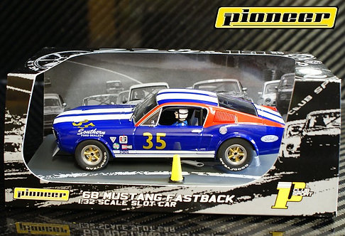 P030 Pioneer Mustang Fastback SFD Team Car #35 Blue