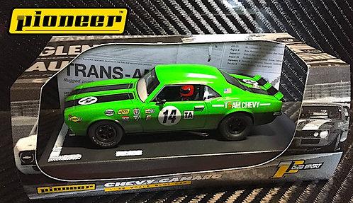P044 Pioneer 1968 Chevrolet Camaro #14, Green '12hr Enduro Racer'