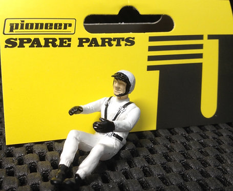 Pioneer Slot Car Painted Driver Figure - FD201549