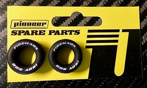 Pioneer Generic Wide Rear Tyres 'FIREHAWK'