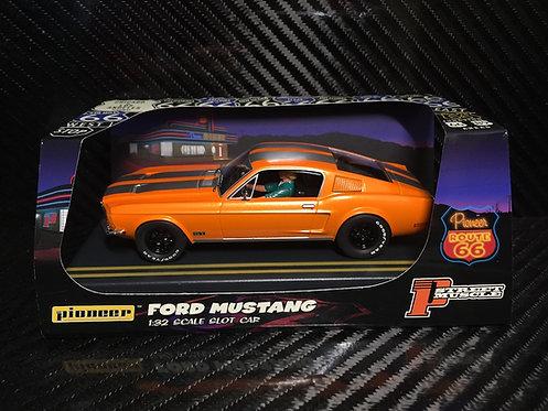P054 Pioneer Mustang Fastback GT, Solar Orange, 'Route 66'
