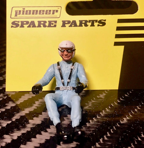 Pioneer Slot Car Painted Driver Figure - FD201546