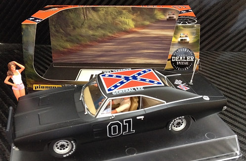 P015-DS Pioneer Dodge Charger 'General Lee' Black Special Edition