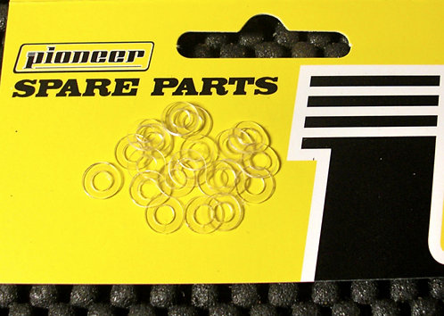 Pioneer Brand Generic Axle Spacers - 0.50mm (Pack of 20)