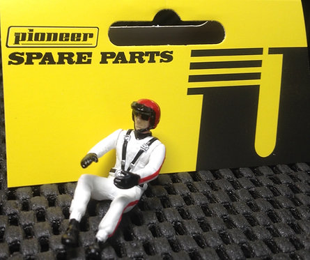 Pioneer Slot Car Painted Driver Figure - FD201541