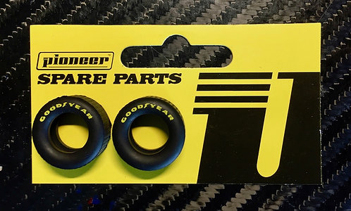 Pioneer Racing Rear Tyres GY Yellow