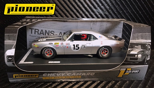 P060 Pioneer 1968 Chevy Camaro T/A, Silver Edition '12hr Enduro Racer'