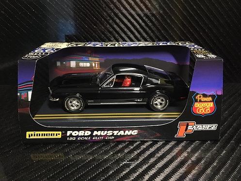 P056 Pioneer Mustang Fastback GT, Jet Black, 'Route 66'