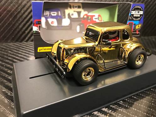 P117-DS Pioneer '34 Ford Coupe Legends Racer, Gold 'Chromie'