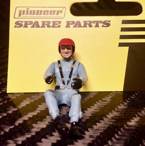 Pioneer Slot Car Painted Driver Figure - FD215410