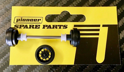 Pioneer Front Axle Assembly - 'Vector' American Racing Wheels