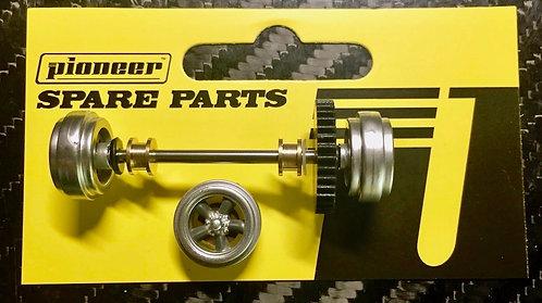 Pioneer BULLITT Mustang Style Rear Axle Assembly