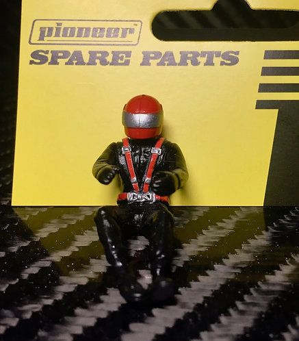 Pioneer Slot Car Painted Driver Figure - FD201574