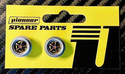 Pioneer 'Crager' Mag 500 Front Wheels - Gold