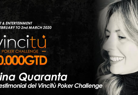 Cristina Quaranta is back