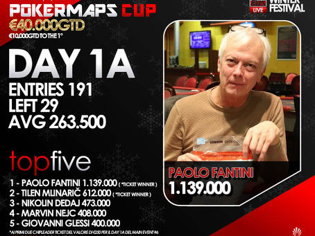 Poker Maps Cup 40.000GTD - Day1A