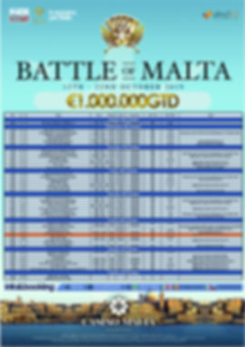 Calendario Battle of Malta 2019 logato j