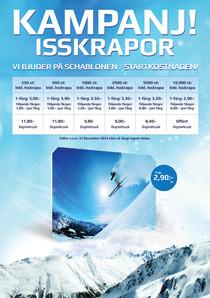 Flyer - Campaign Ice scraper