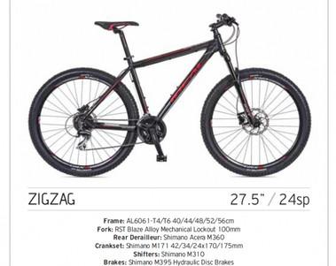 "ZIGZAG Mountain Bike 27,5"""