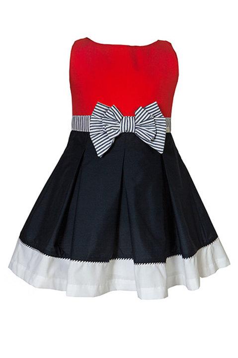 M&B Navy Styled Dress