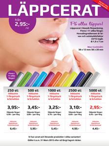 Flyer - Lip Gloss
