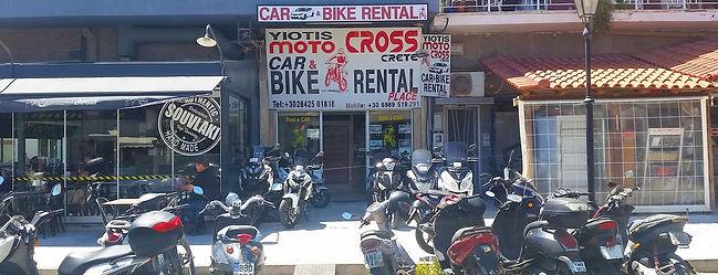 Yiotis Rental Office in Ierapetra