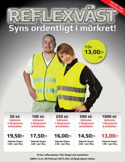 Flyer - Reflective Vests