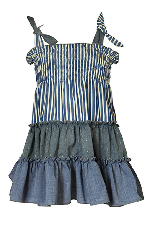 M&B Combined Denim Dress